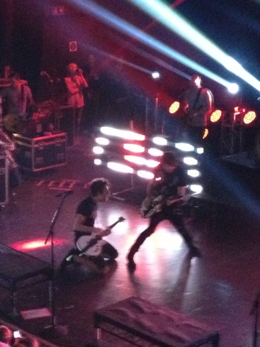 jack barakat and alex gaskarth rock shepherds bush empire